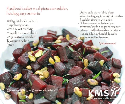 Boost din krop med røbede, pistacienødder, hvidløg og rosmarin
