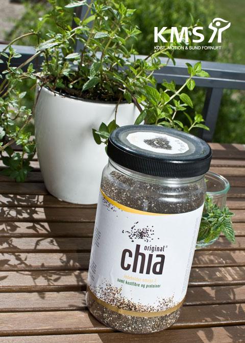 Chiafrø indeholder omega 3, kostfibre og proteiner