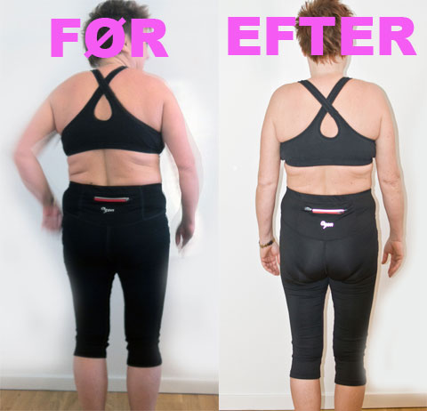 Annette tabte over 10 kg og 87 cm på forløbet 'sund og slank for altid'.