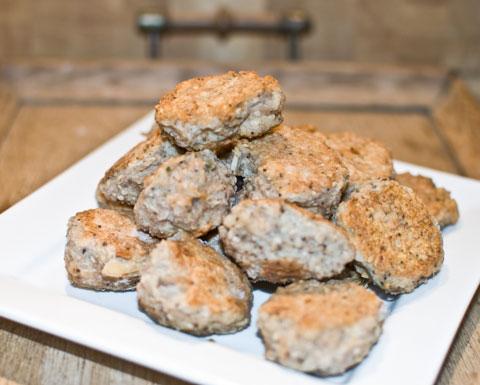 Lise´s Kyllingefrikadeller med quinoa