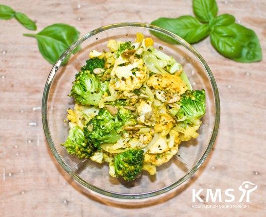 Sommerlige grøntsager i wok