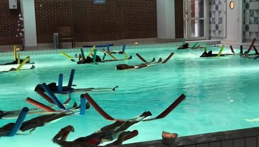 Afsluttende meditation i vand