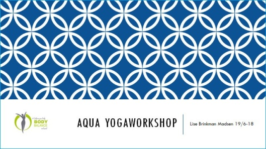 Aquayoga workshop med Lise Brinkman