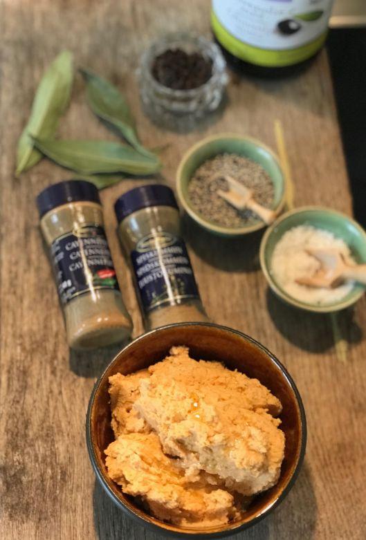 Indisk inspireret humus
